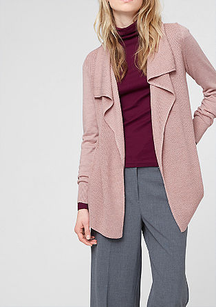 Soft wool blend cardigan from s.Oliver