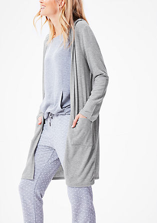 Soft zip-up hoodie from s.Oliver