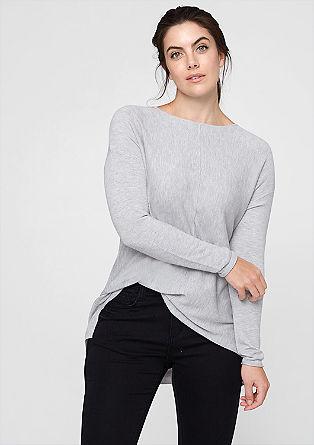 Softe, fijngebreide trui