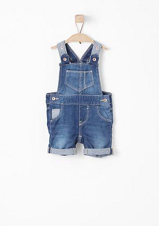 Softe Latzhose in Jeans-Optik