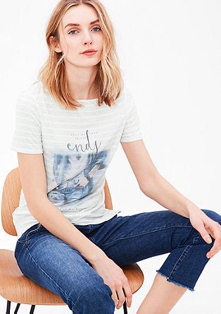 Softes Shirt mit Wording-Print
