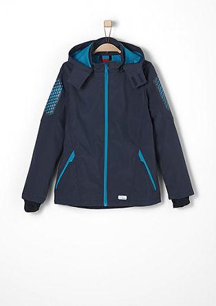 Softshell-Jacke mit Ellbogen-Patch