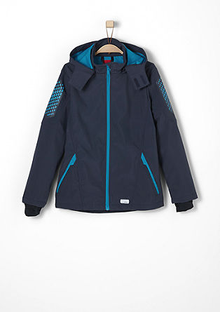 Softshell jacket with elbow patches from s.Oliver