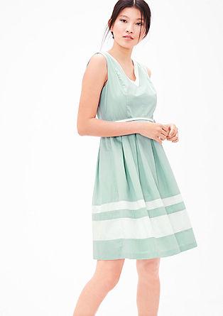Sommerkleid aus Baumwollsatin