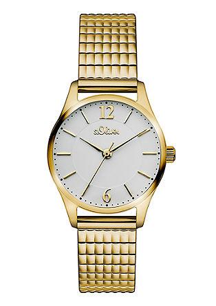 Sportief-elegant horloge van edelstaal