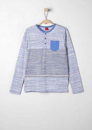 Sportief Henley-shirt