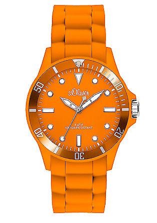 Sportief horloge met band van silicone
