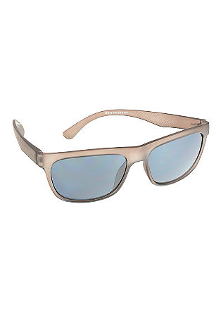 Sportieve zonnebril met rechte lijnen