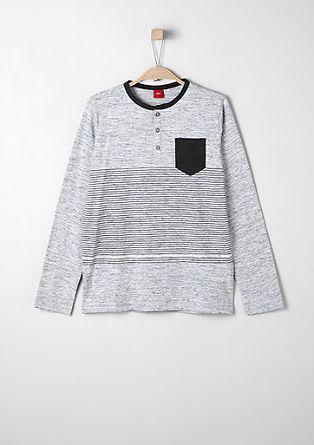 Sportives Henley-Shirt