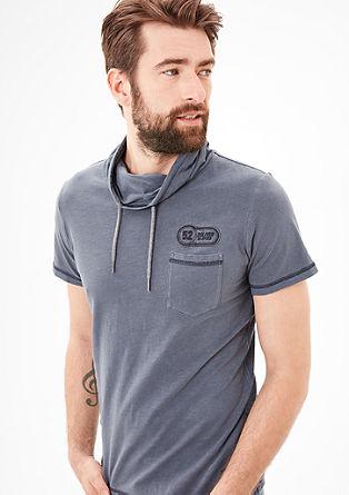 Sportives Shirt mit Turtleneck