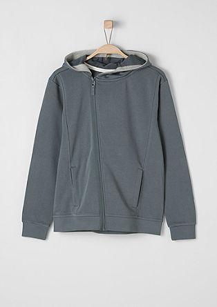 Športna majica s kapuco