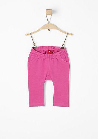 Športne hlače s pikčastimi detajli