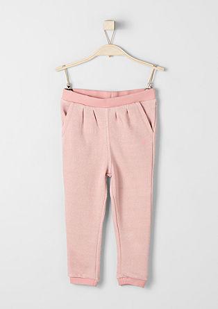 Športne hlače s svetlikajočim učinkom