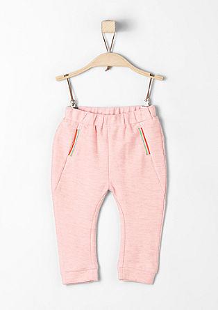 Športne hlače s trakom v obliki mavrice
