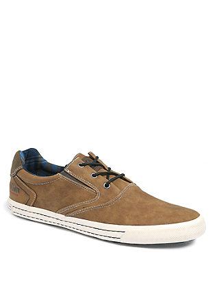 Športni čevlji v videzu usnja