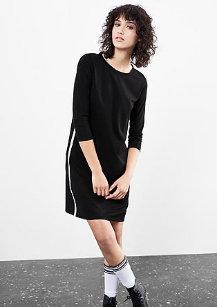 Sporty dress with 3/4-length sleeves from s.Oliver
