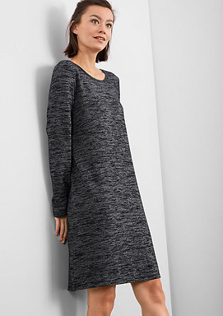 Sporty fine knit dress from s.Oliver