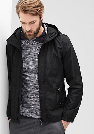 Sporty hooded jacket from s.Oliver