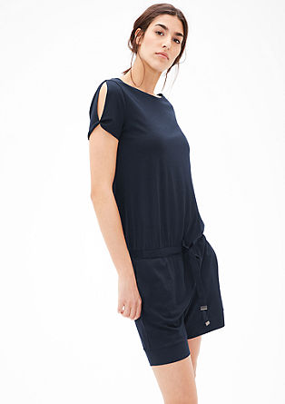 Sporty jersey jumpsuit  from s.Oliver