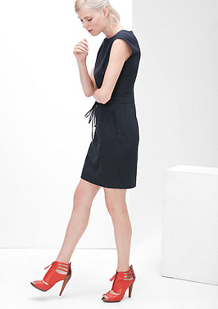 Sporty pinstripe dress from s.Oliver
