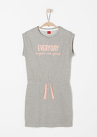 Sporty sweatshirt dress from s.Oliver