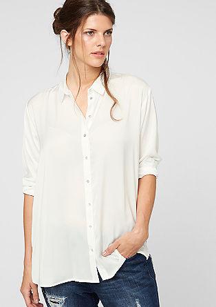 Srajčna bluza iz satena