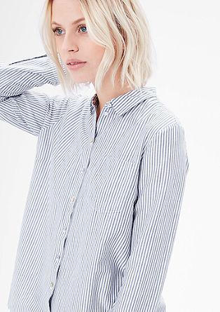 Srajčna bluza z viskozo
