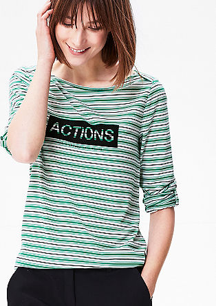 Statement shirt met print