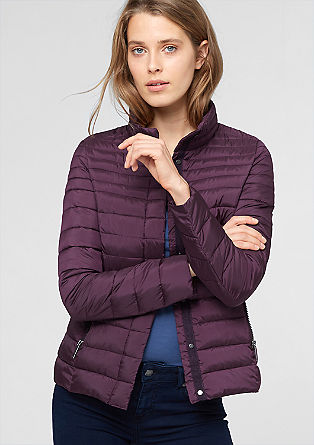 Steppjacke in Light-Down-Optik
