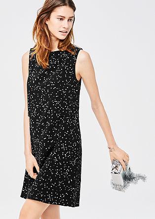 Sternchen-Kleid mit Layering