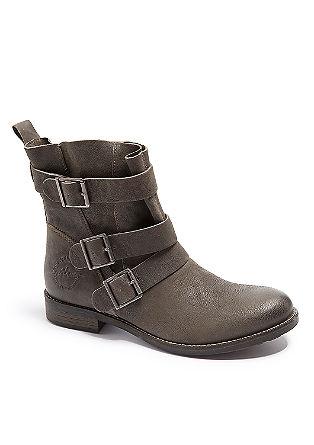 Stiefel mit glänzender Oberfläche