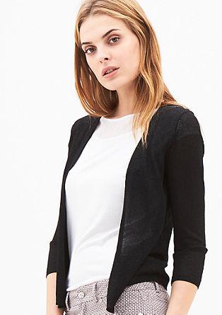 Stijlvol vest met een glanseffect