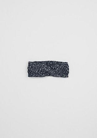 Stirnband aus Glitzergarn