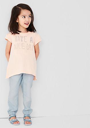 Stoffhose in Jeans-Optik