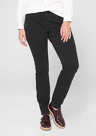 Straight: Slim fit jeans from s.Oliver