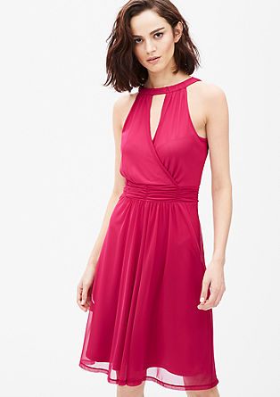 Strapless mesh dress from s.Oliver