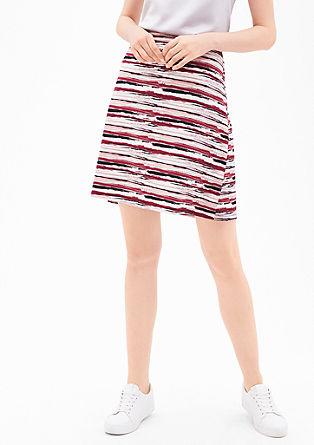 Strečová sukně zžerzeje
