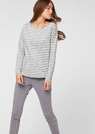 Streifen-Shirt im Inside-Out-Look