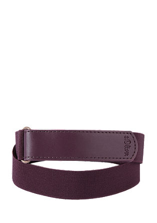 Stretch belt with a Velcro fastener from s.Oliver