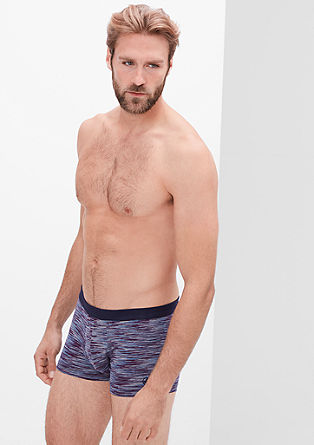 Stretch cotton boxer shorts from s.Oliver