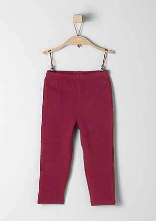 Stretch cotton sweatpants from s.Oliver