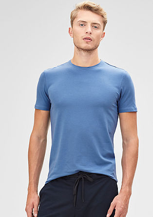 Stretch cotton T-shirt from s.Oliver
