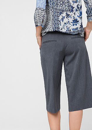 Stretch culottes from s.Oliver