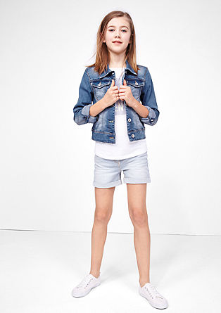 Stretch denim jacket from s.Oliver