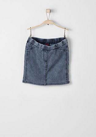 Stretch denim skirt from s.Oliver