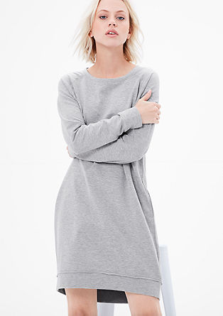 Stretch dress in sweat fabric from s.Oliver
