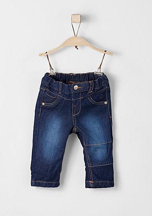 Stretch-Jeans mit Waschung