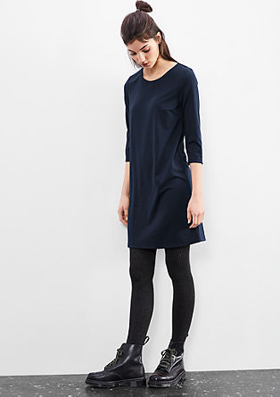 Stretch jersey dress from s.Oliver
