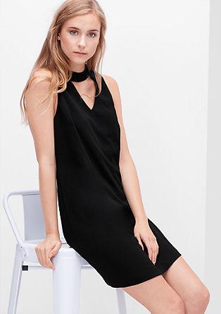 Stretch-Kleid mit raffiniertem Cut-out