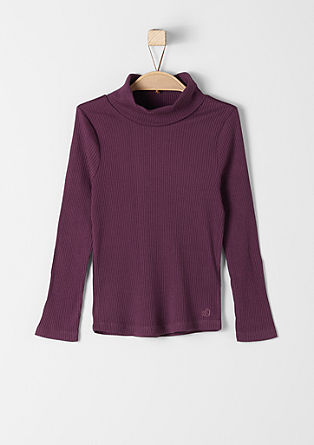 Stretch polo neck jumper from s.Oliver